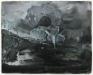 Jason Eberspeaker, Untitled, 2018. Oil on canvas, 8 x 10 in.
