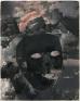 Jason Eberspeaker, Masked untitled I, 2018. Oil on canvas, 10 x 8 in.