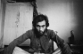 Self Portrait After a Trippy Night the Morning After in My Room, New Delhi, 1976. Gelatin silver pri