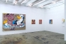 Installation view, east and south wall: Schandra Singh, Zheng Wei, Jennifer Packer.