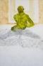 Jennifer Packer: Acrobat, 2012. Oil on canvas, 36 x 24 in.