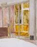 Jennifer Packer: Untitled, 2012. Oil on canvas, 10 x 8 in.