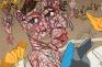Schandra Singh: Charlotte Kate, 2013. Oil on linen (detail), 79 x 108 in.