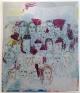 Jackie Gendel, Sidewalk, 2015, oil on canvas, 84 x 72 inches