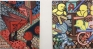 Marcus Weber,K-Platz and  N-Platz (Nolli), 2011. Oil on canvas, 19.5 x 24 each