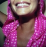 PAT Untitled (Pink Hood), 2004. C-print, 11 x 11 in (image size), ed. of 7.