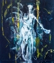 Shanna Waddell: Untitled (Satan) A & E, 2013. Oil on canvas, 72 x 84 in.