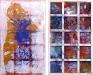 Phigor, 2014. Acrylic and acrylic medium on canvas, 117 x 70 in. (double-sided)