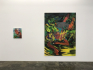 Installation view: Late June, and Fallen.