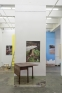 Problems and Solutions: Section 1, 2017. Photographic wallpaper, stones, rope 138 x 53 in. (length v