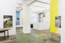 Installation view: north and east wall
