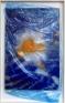 Senga Nengudi, Eggactly, 1996. Dry cleaner's plastic bag, spraypaint on paper, 35 x 23 in.