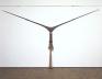 Senga Nengudi, R.S.V.P. 1975-77. Nylon mesh, sand, 4 x 10 feet.