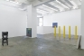 Installation view, north and east wall.