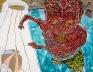 South Asia - Schandra Singh: Bob, 2010. Oil on linen, 108 x 84 in.Courtesy Shumita & Arani Bose Coll