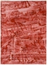Ferdinand Penker, Ohne Titel, 1999. Tempera on paper, 30 x 27.5 in.