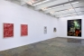 Installation view: west and north
