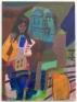 Jackie Gendel, tbt, 2019. Oil on linen, 40 x 30 in.