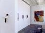 Installation view, project space: Cassie Raihl, Whitney Claflin, Adrian Piper, Lauren Luloff.