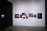 Installation view, south wall.