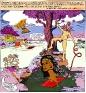 Chitra Ganesh, Secrets, 2007. C-print, digital collage, 47.75 x 44.75 in, edition of 5 (+ 1AP).