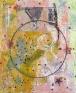 Whitney Claflin, Untitled, 2011. Oil, magazine, safety pin, newspaper, fabric, mirrorstuds, ceramic,