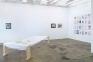 Installation view towards west wall: Carolin Eidner, Yevgeniya Baras, Adelhyd van Bender.
