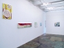 Installation view, west and north wall.
