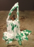 Yuh-Shioh Wong: And there it was again, in a moment, 2005. Styrofoam,papier mache, ceramic, 42 x 35