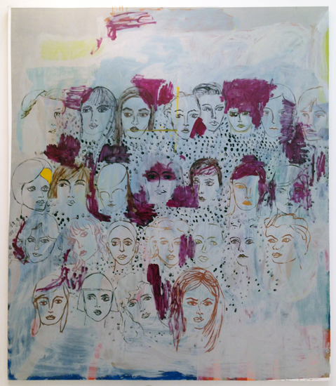 Featured image for Painting Forward - Joan Brown, Charles Garabedian, Jackie Gendel, Haley Josephs, Kyle Staver