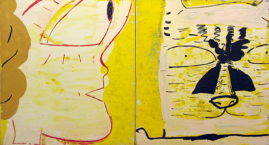 Featured image for What With What - Rose Wylie