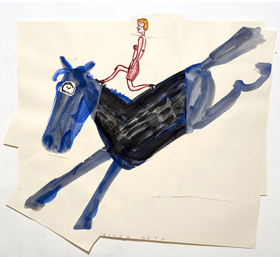 Featured image for Girl and Spiders - Rose Wylie
