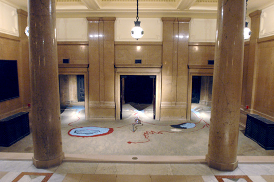 Featured image for From One Source Many Rivers - at Carnegie International 2004 - 2005, Carnegie Museum of Art in Pittsburgh. - Senga Nengudi